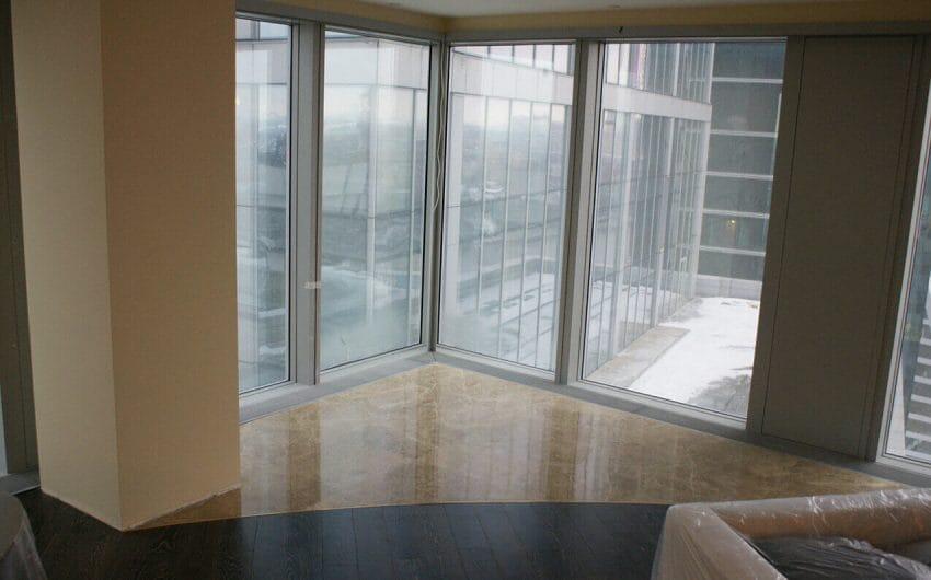 Оформление квартиры мрамором