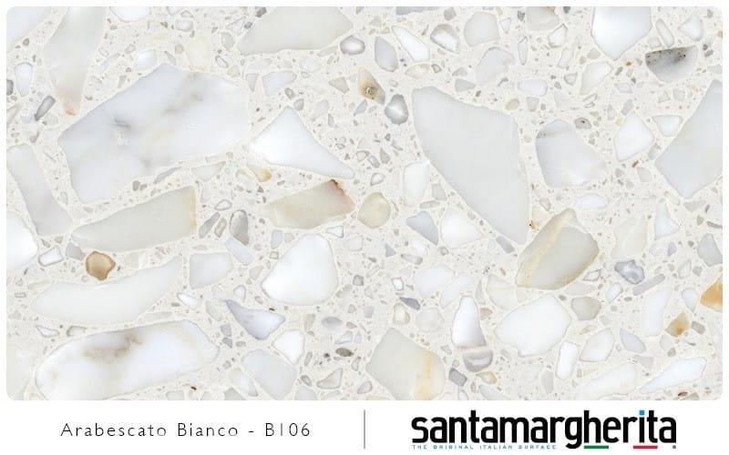 Santa Margherita arabescato bianco